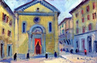 Work of Rodolfo Marma  Piazza S.Felicita  (Firenze)