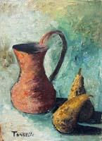 Quadro di Sauro Tasselli - Composizione olio tavola