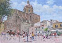 Work of Graziano Marsili  Piazza Cestello (Firenze)