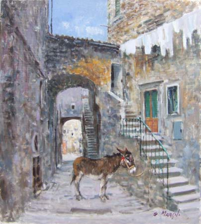 Art work by Graziano Marsili Scanno (Aquila) - oil canvas