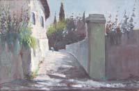 Quadro di M. Martelli  Paesaggio