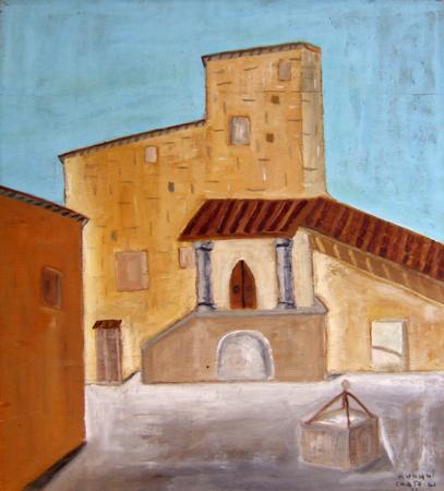 Quadro di Armando Vanni Cortecci Montemignaio, olio su tavola 65 x 58 | FirenzeArt Galleria d'arte