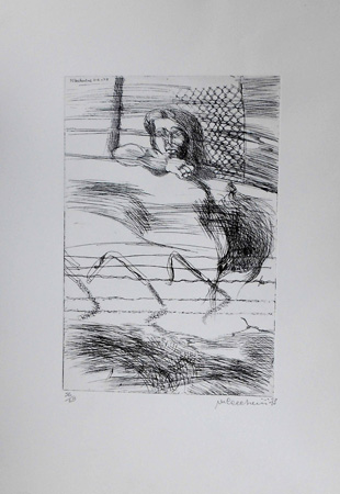 Art work by M. Ceccherini Figura - lithography paper