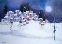 Quadro di Lido Bettarini  Nevicata