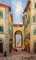 Work of Rodolfo Marma  Porta a S. Frediano