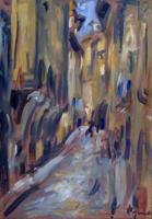 Work of Enzo Pregno  Strada di città
