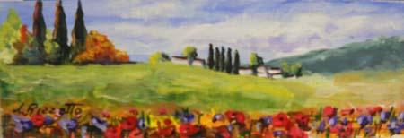 Quadro di Loredana Rizzetto Paesaggio - olio tavola