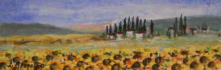 Quadro di Loredana Rizzetto Paesaggio - Pittori contemporanei galleria Firenze Art