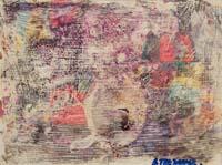 Quadro di Andrea Tirinnanzi - Adios mondo crudele decollage compensato