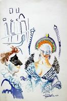 Work of Luigi Pignataro  Carnevale a Venezia