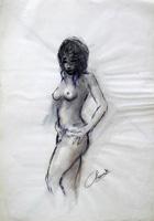 Quadro di Sereno Serena  Nudo