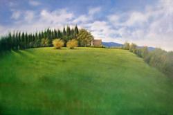 Quadro di Renzo Corcos  Paesaggio