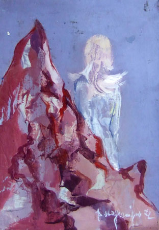 Artwork by Pina Scognamiglio, oil on table | Italian Painters FirenzeArt gallery italian painters