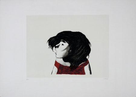 Quadro di Xavier Bueno Testa - litografia carta