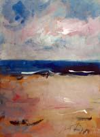 Quadro di Sergio Scatizzi - Costa Azzurra acquerello carta