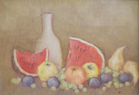 Quadro di Renato Cappelli (Renca) Composizione - olio tela