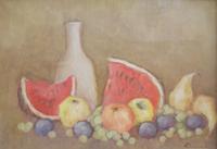 Quadro di Renato Cappelli (Renca) - Composizione olio tela