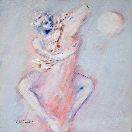 Quadro di Umberto Bianchini Vrso il sole - Pittori contemporanei galleria Firenze Art