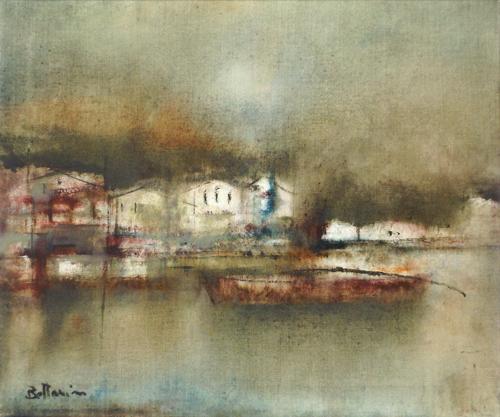 Quadro di Lido Bettarini Marina Grande - Capri - olio tela