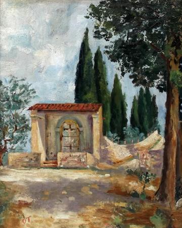 Quadro di Ottavia Tempestini Paesaggio - Pittori contemporanei galleria Firenze Art