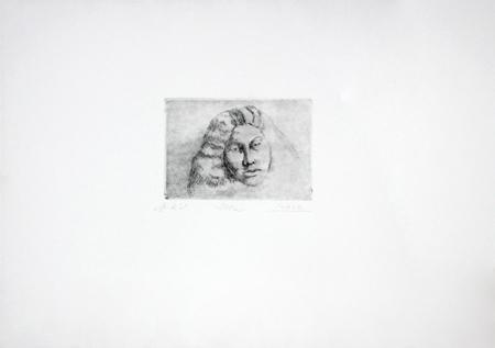 Quadro di Raffaello Lopez Ilka - litografia carta