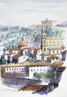 Quadro di Elio Bargagni  Santo Spirito (Firenze)