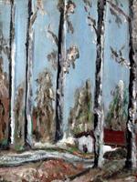 Quadro di Cesare Baldassini  Paesaggio