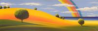 Quadro di Giuseppe Ruberto  Paesaggio