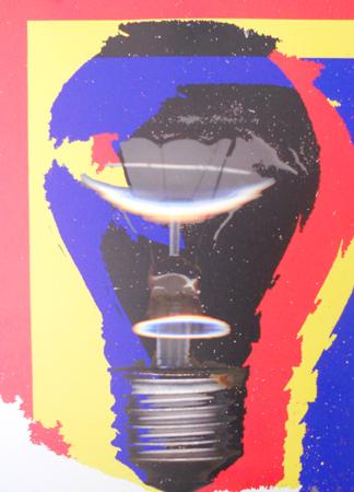 Quadro di Andrea Tirinnanzi Il tramonto della Luce - ink jet tela