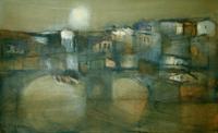 Work of Lido Bettarini  Ponte  Vecchio - Firenze