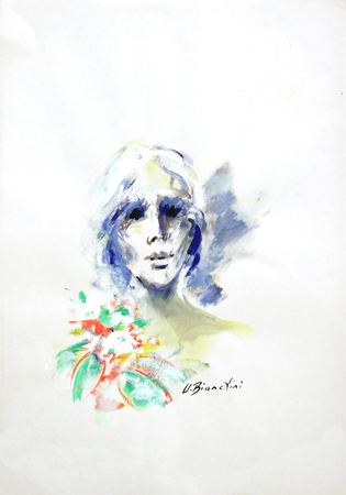 Quadro di Umberto Bianchini Lei - tempera carta