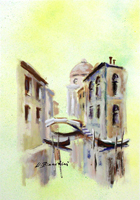 Quadro di Umberto Bianchini  Scorcio