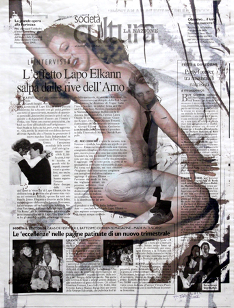 Quadro di Andrea Tirinnanzi Marilyn - digital art carta
