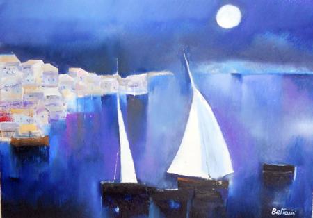 Art work by Lido Bettarini Marina - oil canvas