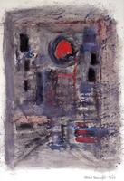 Quadro di Alvaro Baragli - Astratto acrilico cartone