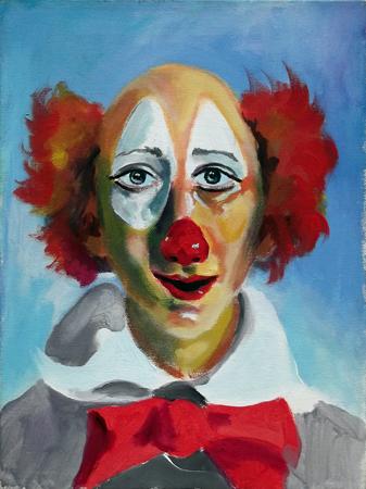 Quadro di Luigi Pignataro Clown - olio tela
