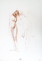 Work of  Barajas - Studio sulla figura 1 print paper