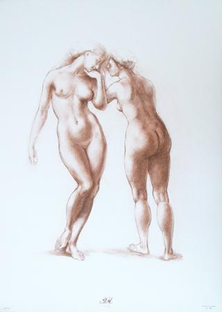 Quadro di  Barajas Studio sulla figura 6 - Pittori contemporanei galleria Firenze Art