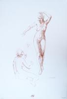 Quadro di  Barajas  Studio sulla figura 7