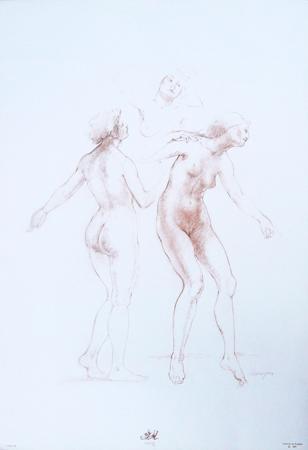 Art work by  Barajas Studio sulla figura 7 - print paper