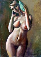 Work of Luigi Pignataro  Ragazza con la conchiglia