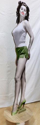 Quadro di Andrea Tirinnanzi Sophia Loren  - Pittori contemporanei galleria Firenze Art