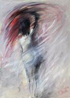 Quadro di Vanessa Katrin  Vortice di passione