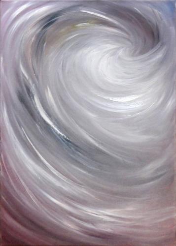 Quadro di Vanessa Katrin Un'emozione - olio tela