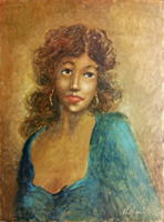 Quadro di Mariano Magnini  Figura femminile