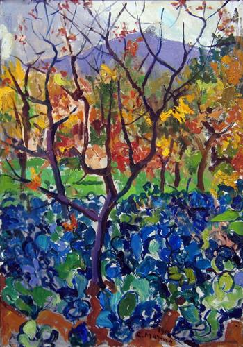 Quadro di Rodolfo Marma Autunno - olio tela