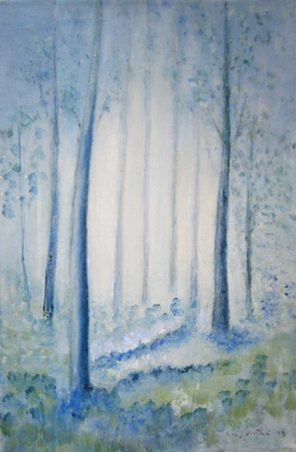 Art work by Liù Venturi Alberi magici - oil canvas