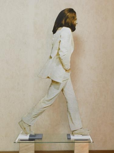 Quadro di Andrea Tirinnanzi John Lennon - digiscultura bifacciale carta su tavola