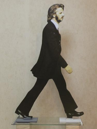 Quadro di Andrea Tirinnanzi Ringo Starr, digiscultura bifacciale su carta su tavola 173 x 106 | FirenzeArt Galleria d'arte