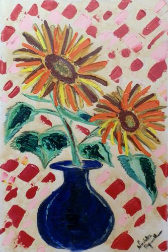 Quadro di Nicoletta Paparella Fiori - olio tela
